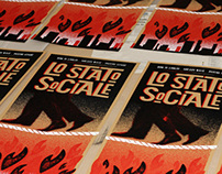 LO STATO SOCIALE - 2012 Gig Poster
