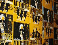 AFTERHOURS - 2011 Gig Poster