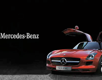 "DIGITAL. Mercedes Benz. ""Momentos SLS"""