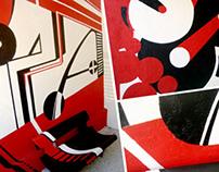 Escola Opa! Criação e Pintura Mural.