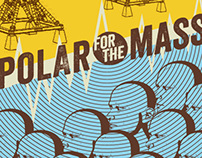 POLAR FOR THE MASSES - 2012 Gig Poster