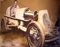 1940's Roadster Mural