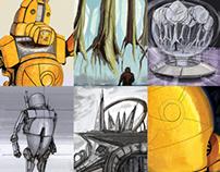 Various works december 2011/ may 2012