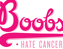 My Boobs Hate Cancer Logo