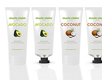 Brand design for Marie Claire.