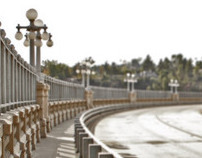 """Suicide Bridge"" Old Pasadena CA"