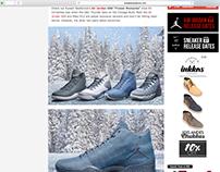 Nike/Jordan Brand// Frozen Moments