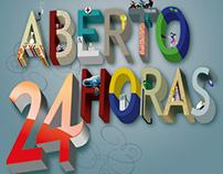 Magazine Cover Typography - Veja BH