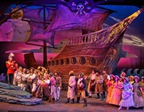 Lighting Design Pirates of Penzance