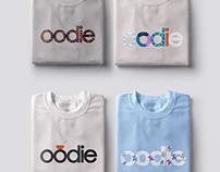 OODIE merchandise design project.
