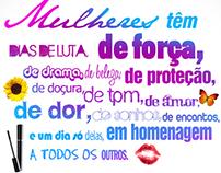 Campanha // Jornal O DIA // Dia da Mulher