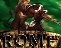"""Rome Vacation Postcard"" Composition (Photoshop)"