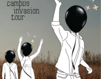 Black Balloon Campus Invasion Tour