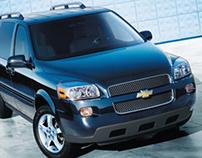 Chevrolet Uplander Catalog