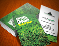 LawnFresh Business Cards