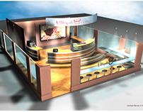 Interior design for a cupcake shop