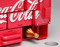 Coke Storage Rack