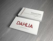 Charte graphique Dahlia