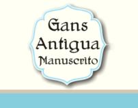 Gans Antigua Manuscrito font