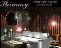 College Portfolio - Shimmy (Prototype Design)