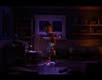 Cartoon Scene - 01