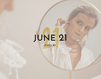 Logo Design: June 21 Jewelry