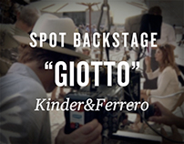 "BackStage ""Giotto"" - Kinder&Ferrero"