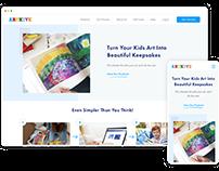 Artkive Website Redesign