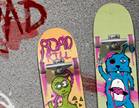 Skateboard design: Roadkill
