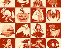 Drawlloween 2015 (Pixel)