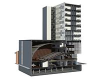 projekt budynku wielofunkcyjnego