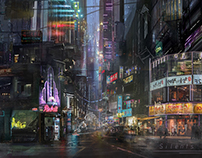 Cyber Asia city