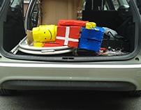 Construction - LEGO en carton   2015