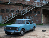 Red Menace (Lada 1200)