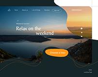 Tourist Landing Page