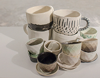 Slip Cast Cups