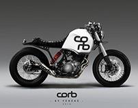 Design Yamaha Tenere Café Racer.