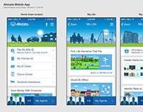 Allstate Mobile App Redesign