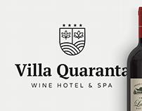 Villa Quaranta branding