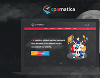 Landing Page for Cpamatica