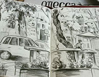 City sketches