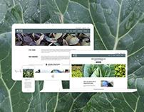 Sound Pine Farm - Website Mockup