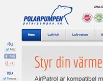 Polarpumpen - Web Design
