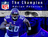 NFL superstars visuals