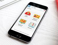 """""""TAMO"""" elektroninio dienyno dizainas mobiliems"""