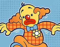 Clowns Can't Ollie - T-Shirt Print