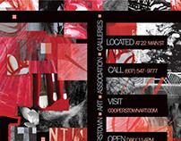 Promotional Material for National Juried Exhibit
