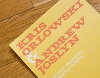 Kris Orlowski & Andrew Joslyn