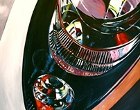 Painting: Bike, 2008