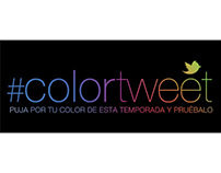 Color Tweet. L'Oréal Cibeles 2012